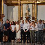 El Ayuntamiento de Vélez Blanco reconoce la labor de los voluntarios del Festival - María del Mar, Leo, Alba, Helena, Diego, Ignacio y Manuel- y les entrega la insiginia oficial