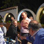 El saludo de dos Doctores Honoris causa Jordi Savall y Bernard Vincent